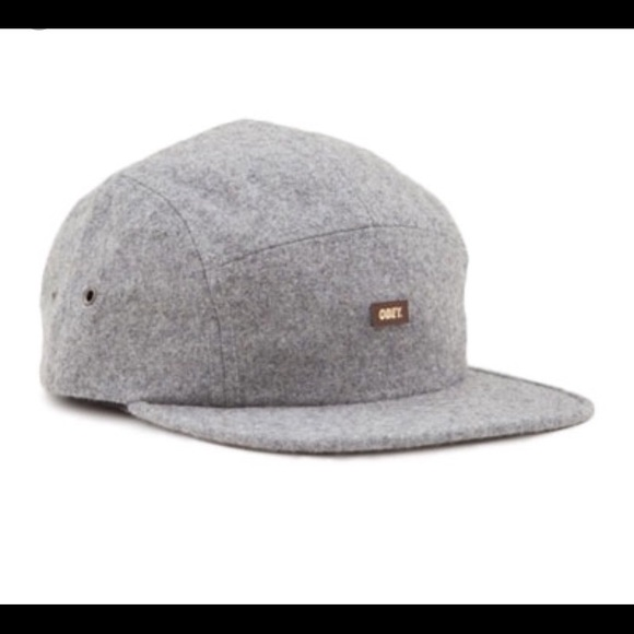 4add2d75a59 Obey Toulouse 5 Panel Hat in Heather Grey. M 5a46b37305f430c81a127d91